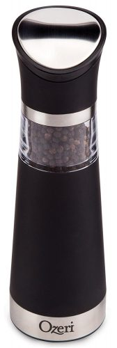 Ozeri Graviti Pro Electric Pepper Mill and Grinder - electric pepper grinder