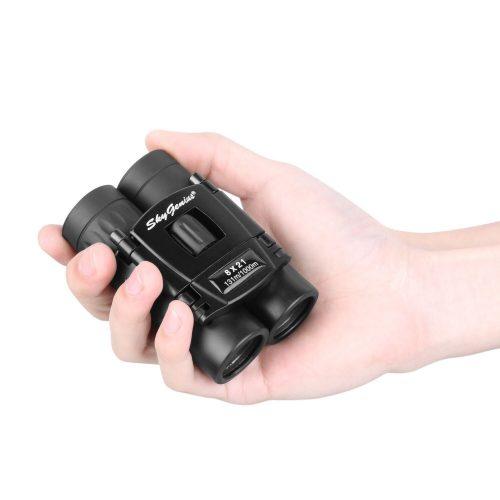 SkyGenius 8x21 Small Compact Lightweight Binoculars - Compact Binoculars