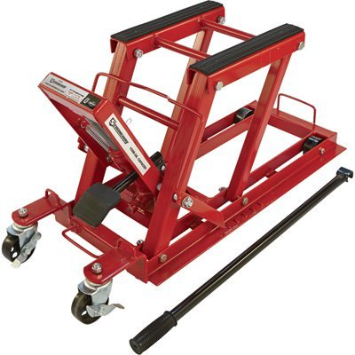 Strongway Hydraulic Motorcycle Jack/Utility Vehicle Lift - Motorcycle Lift Jacks