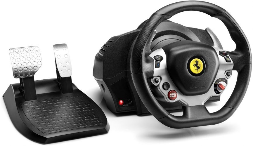 Thrustmaster TX Racing Wheel Ferrari 458 Italia Edition - racing steering wheel