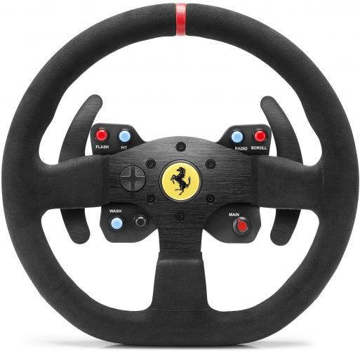 Thrustmaster VG Ferrari 599XX EVO Wheel Add-On, Alcantara Edition for PS4, PS3, Xbox One & PC - racing steering wheel