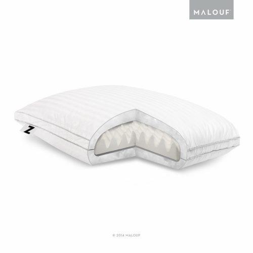 Z Convolution Gelled Microfiber Foam Pillow - Down pillows