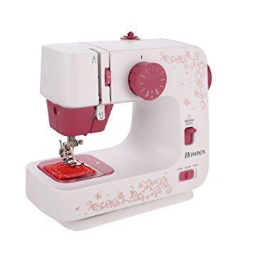 Meditool Lightweight Sewing Machine Electric Double Speed (Low/High) Household Full-Featured With 12 Stitches