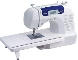 Brother CS6000i Feature-Rich Sewing Machine With 60 Built-In Stitches, seven styles of 1-Step Auto-Size Buttonholes, Quilting Table, and Hard Cover