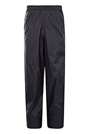 Mountain Warehouse Pakka Kids Waterproof Over Pants - Breathable & Taped Seams