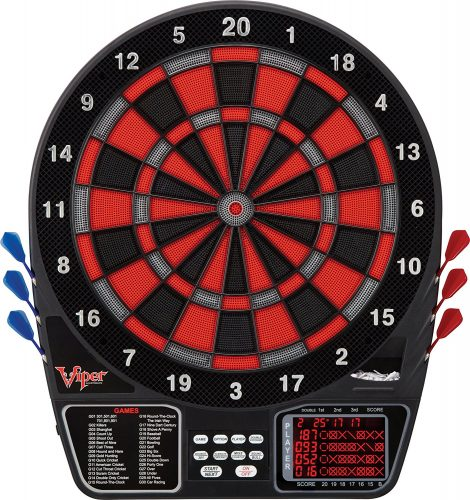 Viper 797 Electronic Soft Tip Dartboard - Electronic Dart Boards