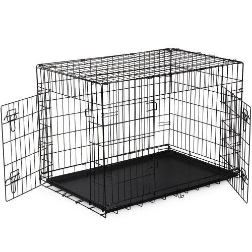 """36"""" door Folding Metal Dog Crate Pet Cage PCT02"""