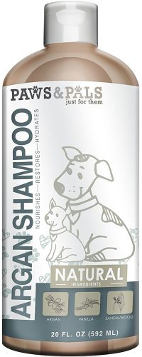 Paws & Pals Natural Dog-Shampoo And Conditioner - 20oz Medicated Clinical Vet Formula Wash For All Pets Puppy & Cats