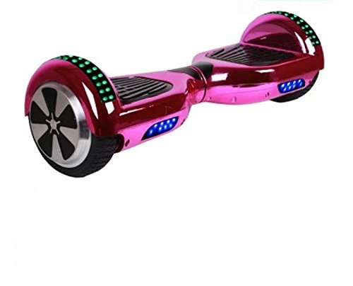 UL2272 Certified 6.5inch Smart Self Balancing Hoverboard Personal Adult & Kids Transporter with LED Lights and Bluetooth Speaker