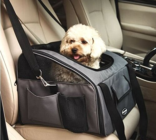 Pettom Pet car seat Carrier for Dog Cat, Lookout Booster Seat