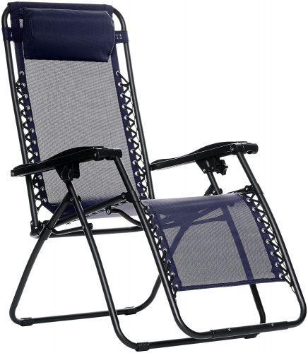 Amazon basics zero gravity chair