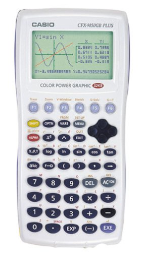 Casio CFX-9850GC Plus Graphing Calculator (White)