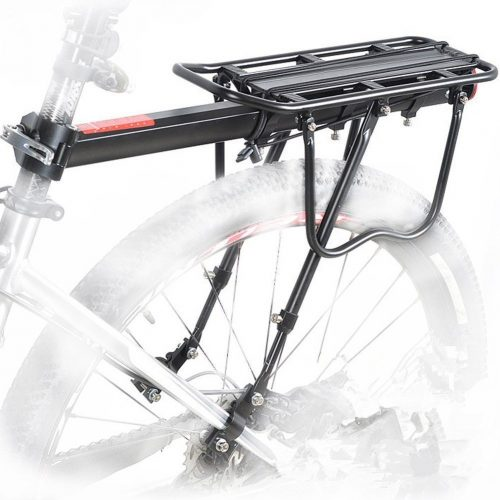 COMINGFIT 110 Lbs. Capacity Aluminum Alloy Bicycle Rear Rack