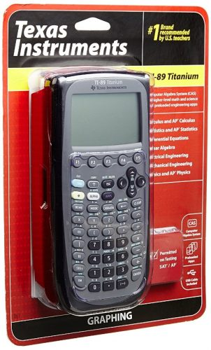 Texas Instruments TI-89 Titanium Graphing Calculator (packaging may differ)
