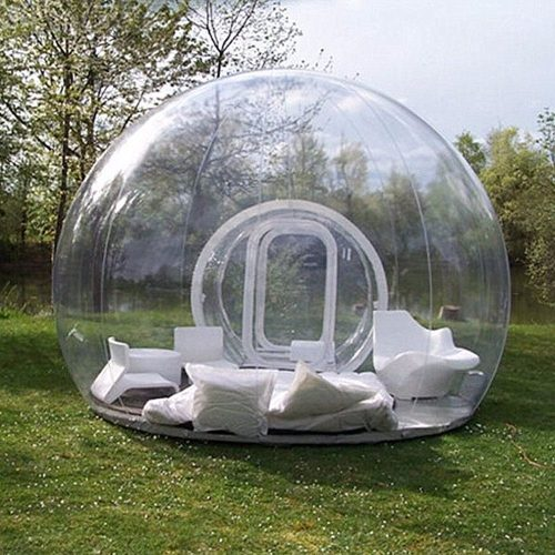 Travel Inflatable Bubble Tents for Camping Customized Giant Outdoor Display Transparent Trade Show