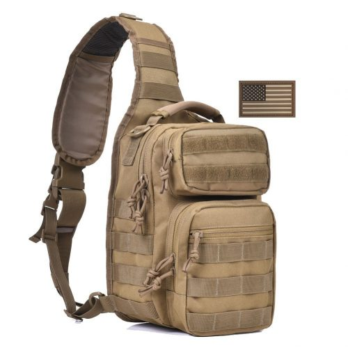Tactical Sling Bag Pack Military Rover Shoulder Sling Backpack Small