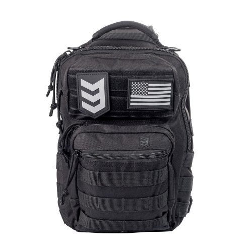 3V Gear Posse Tactical Sling Pack with Shoulder Sling for every day Carry Molle Multifunctional for Carrying Concealed Weapon
