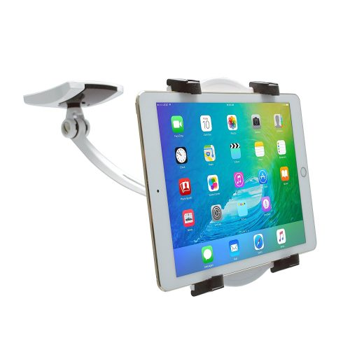 "CTA Digital Wall/Under-Cabinet & Desk Mount with 2 Mounting Bases for 7-12"" Tablets PAD-WDM"