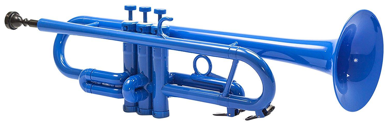Tromba Plastic Trumpet, Blue