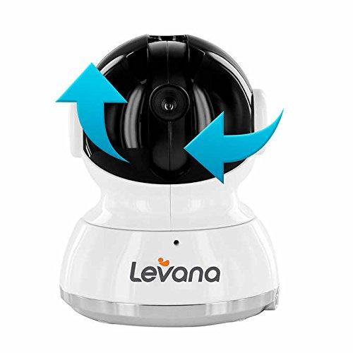 "Levana Willow 5"" HD Touchscreen PTZ Baby Monitor – White"