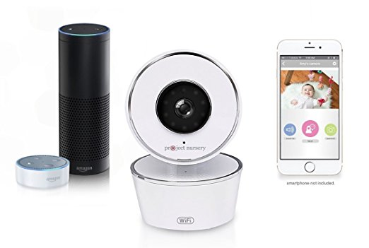 Alexa Enabled Smart Baby Monitor with WiFi from Project Nursery