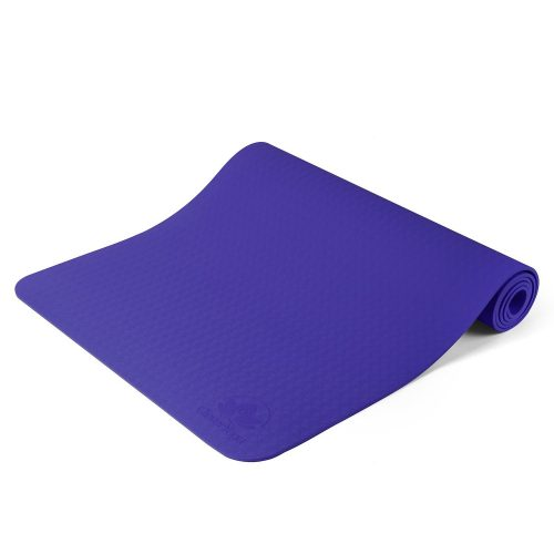 Non Slip Yoga Mat - Longer And Wider Than Other Exercise Mats - ¼-Inch Thick High Density Padding To Avoid Sore Knees During Pilates, Stretching & Toning Workouts - For Men & Women - LIMITED TIME DEAL