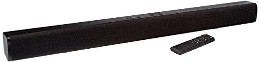 AmazonBasics 2.0 Channel Bluetooth Sound Bar - Bluetooth Soundbars