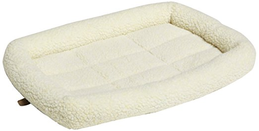 AmazonBasics Padded Pet Bolster Bed - Cat Beds