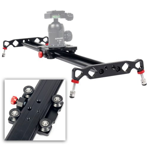 "Ashanks 31""/80cm 4 Bearings Aluminum alloy Camera Track an slider For Dolly Sliders Track Rail Stabilizer Video DSLR DV Camera System - Camera slider"
