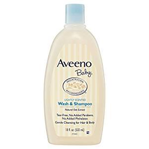 Aveeno Baby Wash & Shampoo For Hair & Body, Tear-Free, 18 Oz. - Baby Shampoos