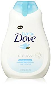 Baby Dove Tear free shampoo, Rich Moisture, 13 oz, 3 count - Baby Shampoos