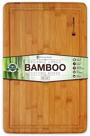 Bamboo Works Professional Bamboo Wood Cutting Board - Bamboo Cutting Boards