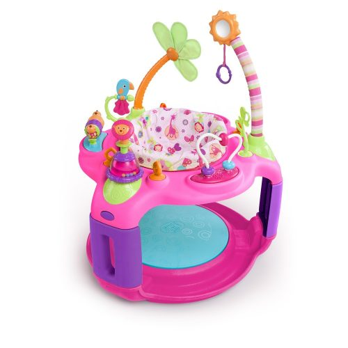 Bright Starts Sweet Safari Bounce-a-Round Activity Center - Baby Bouncer
