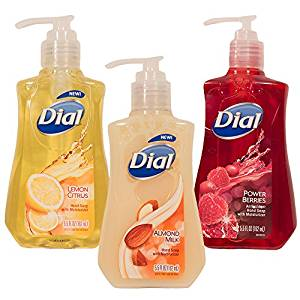 Dial Moisturizing Hand Wash Variety 3-Pack - 5.5 Oz Each (3 Pack, Variety) - Hand Soaps