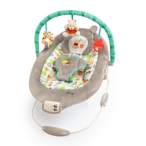 Disney Baby Winnie The Pooh Bouncer, Dots and Hunny Pots - Baby Bouncer