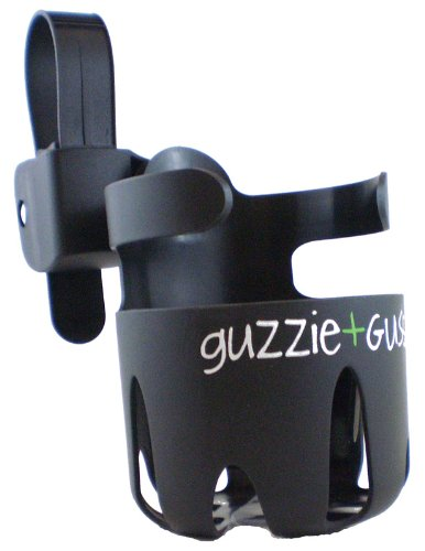 Guzzie+Guss Universal Cup Holder, Black - Car Cup Holders