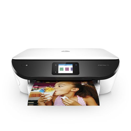 HP ENVY Photo 7155 All in One Photo Printer with Wireless Printing, Instant Ink ready - White- All in one photo printer