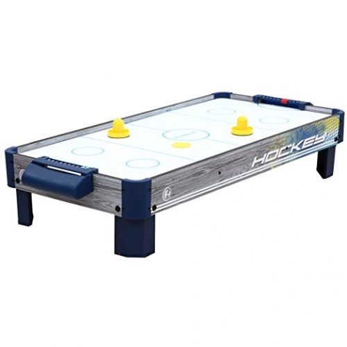 Harvil 40-Inch Tabletop Air Hockey Table with Powerful Electronic Blower, 2 Paddles, and 2 Pucks. - Air Hockey Tables