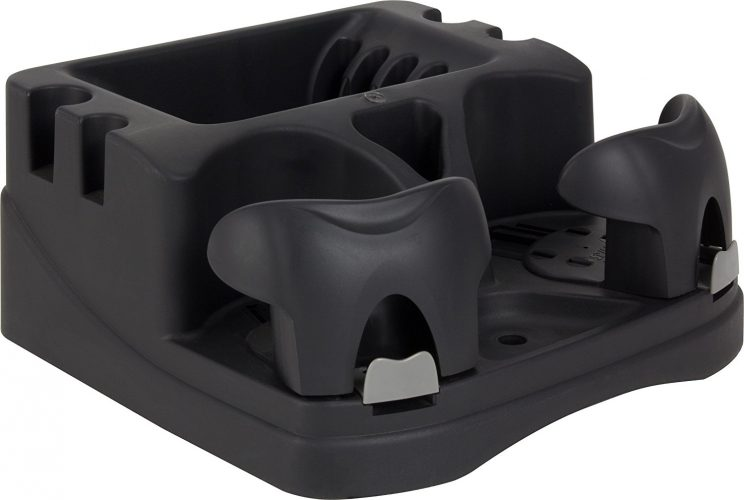 Hopkins EMIC-BLA Go Gear Euro Mini Console, (Black) - Car Cup Holders