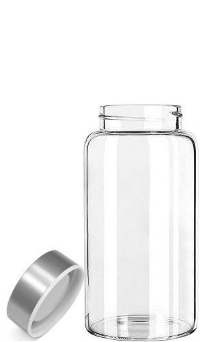 Kablo Glass Water Bottle 32 or 21 oz, 100% Borosilicate Glass - BPA-free Water Bottles