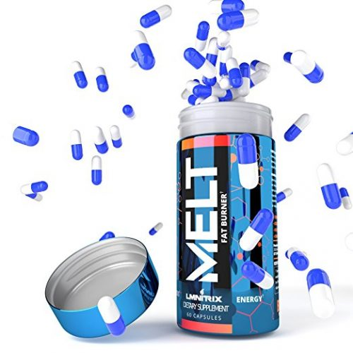 MELT - Best Thermogenic Fat Burner For Men & Women - Appetite Suppressant Pills for Fast Weight Loss - Real Results Guaranteed - 60 caps - Appetite Suppressant