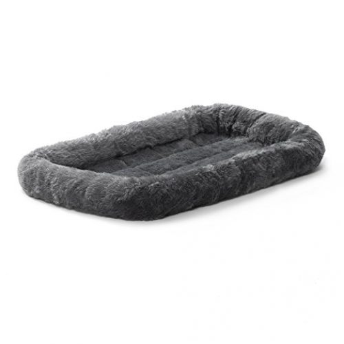 MidWest Deluxe Bolster Pet Bed for Dogs & Cats - Cat Beds