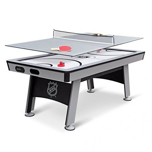NHL Power Play Hover Hockey Table with Table Tennis Top, 80-inch - Air Hockey Tables
