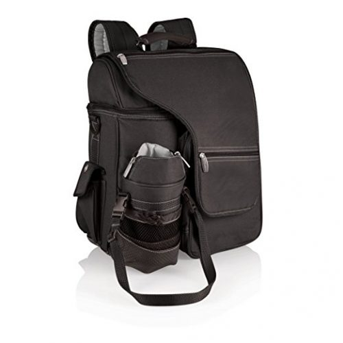 Picnic Time Turismo Insulated Backpack Cooler, Black - Backpack Coolers