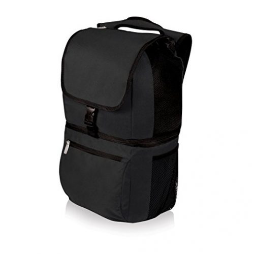 Picnic Time Zuma Insulated Cooler Backpack, Black - Backpack Coolers