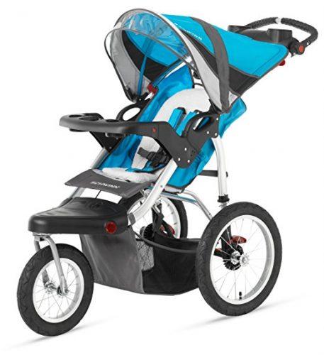 Schwinn Turismo Swivel Single Jogger - All-Terrain Strollers