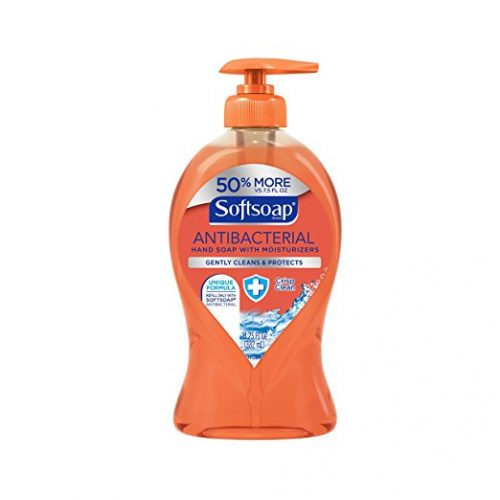 Softsoap Antibacterial Liquid Hand Soap, Crisp and Clean - 11.25 fluid ounce (6 Pack) - Hand Soaps