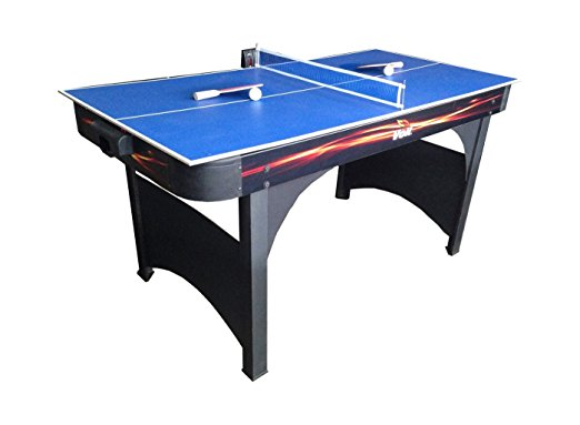 Voit Playmaker 60 in. Air Hockey Table with Table Tennis - Air Hockey Tables