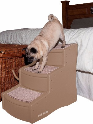 Pet Gear Easy Step III Pet Stairs, 3-Step for cats and dogs - Pet Stairs