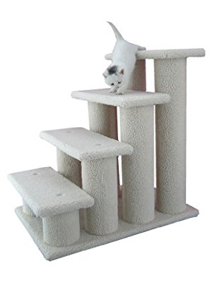 Armarkat Pet Steps Stairs Ramp for Cats and Dogs - Pet Stairs